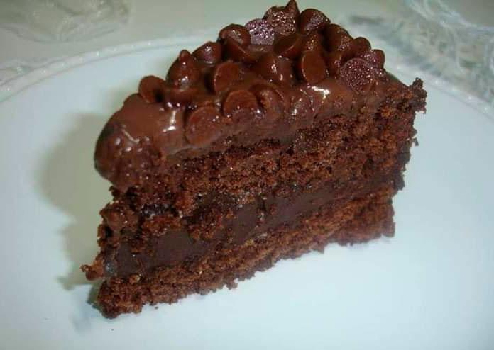 Bolo trufa de chocolate